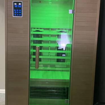 Infrared Sauna with Himalayan Salt
